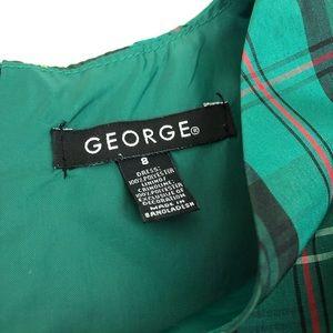 George Dresses - George Plaid Dress